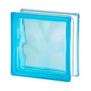 pustak szklany niebieski luksfer wave azur chmurka niebieski